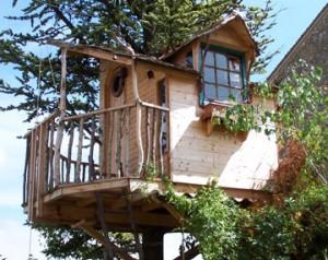 La décroissance où le chemin vers le bon sens dans art de vivre cabane-perchee-300x238