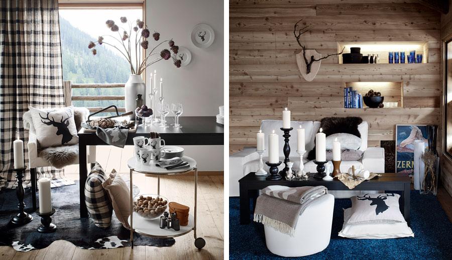 La collection chalet d ikea ou la d coration hivernale la dame bricole mod - Vaisselle style montagne ...
